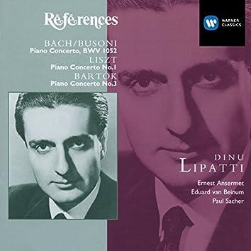 Bach/Busoni, Liszt, Bartok: Piano Concertos
