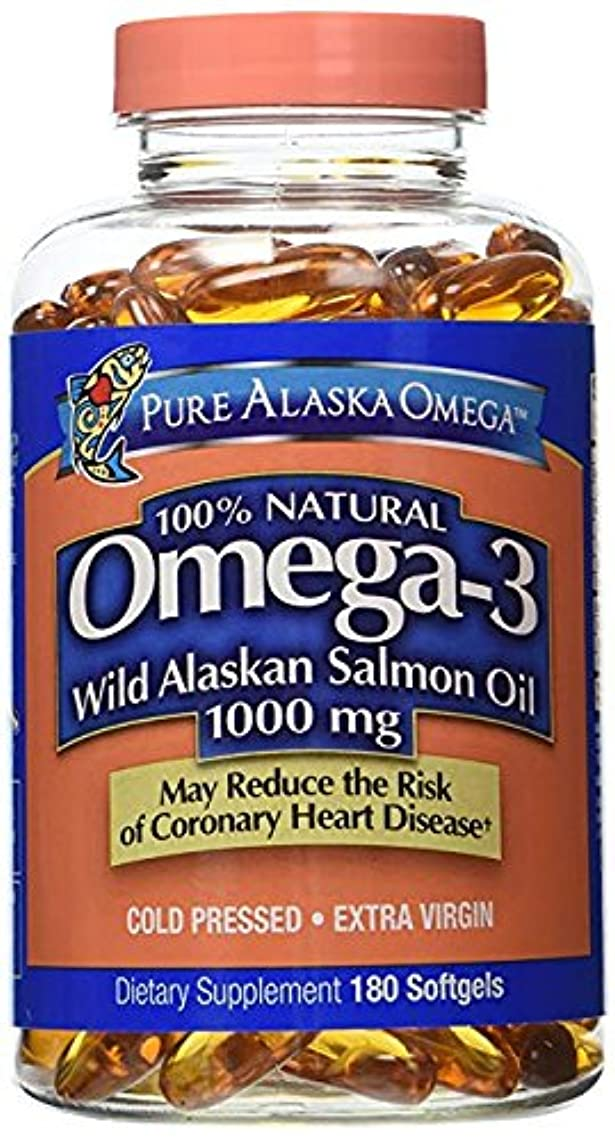 Pure Alaska Omega-3 Wild Alaskan Salmon Oil 1000mg 210 Count