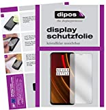dipos I 2X Schutzfolie klar kompatibel mit OnePlus 6T McLaren Edition Folie Bildschirmschutzfolie