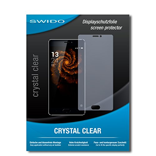 SWIDO Schutzfolie für Allview X3 Soul Pro [2 Stück] Kristall-Klar, Hoher Festigkeitgrad, Schutz vor Öl, Staub & Kratzer/Glasfolie, Bildschirmschutz, Bildschirmschutzfolie, Panzerglas-Folie