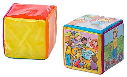 Betzold 1 Pocket Cube, 15 x 15 x 15 cm Würfel gestalten Kinder Kindergarten Mitgebsel Kindergeburtstag Bewegungswürfel Rechenwürfel Lernwürfel Lehrerbedarf Spielwürfel Spiele