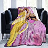 Nicholas Cage Funny Banana Throw Blankets Anti-Pilling Blanket Fuzzy Soft Plush Blanket Cozy for Sofa Bedroom Decor 60x50In