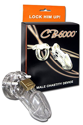 CB-X CB-6000 Chastity Cage Clear