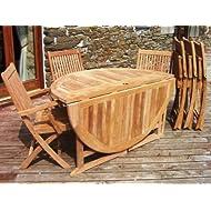 Teak Seater Round Gateleg Table