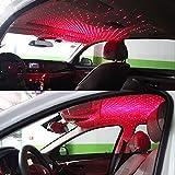 Car-Dec® USB Night Light, Star Projector Night Light, Interior Car Lights, Bending Freely Portable Night Light Atmospheres Decoration for Car, Ceiling, Bedroom, Party