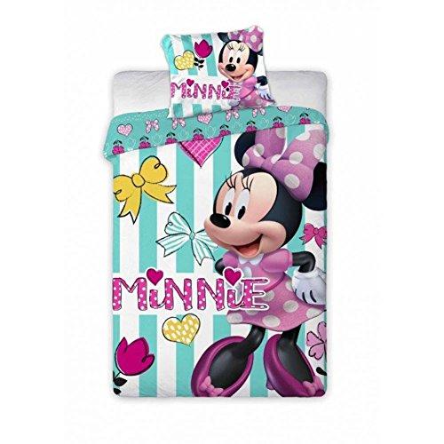 Disney Junior Minnie Mouse Baby biancheria da letto 100x 135cm