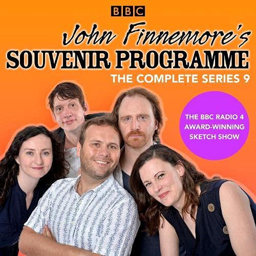 John Finnemore's Souvenir Programme: Series 9 cover art