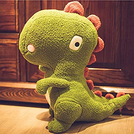 ZSFR Dinosaur Plush Toy Bed Doll Big Doll Holding Pillow Long Pillow Sleeping Doll Give Girl Son Birthday Gift 45Cm