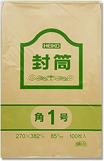ヘイコー 封筒 事務用 クラフト 角1 27×38.2cm 100枚入 007520200