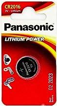 Panasonic CR2016 - Pila de botón (1 unidad, litio)