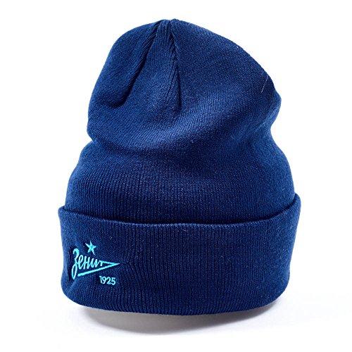 Atributika & Club FC Zenit St. Petersburg Classic Beanie hat, Dark Blue, Size L/XL