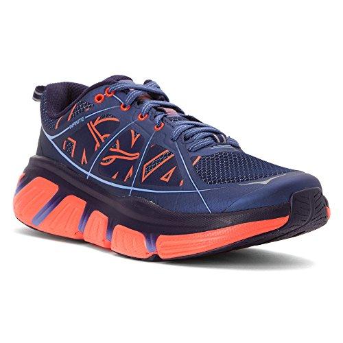 HOKA ONE ONE Women's Infinite Running Shoe Acid/Mulberry Purple Size 11 M US