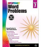 Spectrum Word Problems, Grade 7