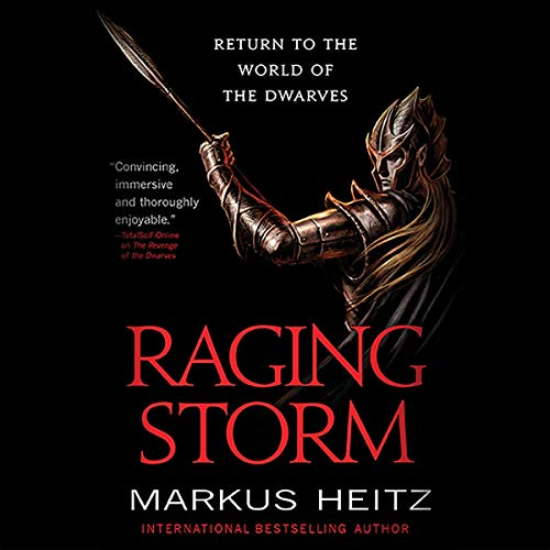 Raging Storm audiobook cover art