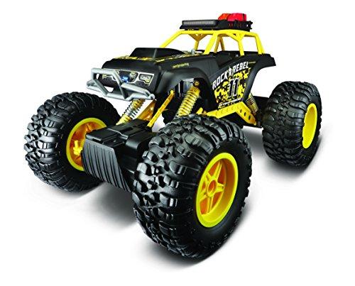 Maisto 81157 R/C Rock Crawler 3xl, Giallo