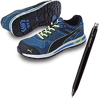 PUMA(プーマ) 安全靴 作業靴 ブレイズ?ニット?ロー 25.0cm 消せるボールペン付きセット 64.236.0