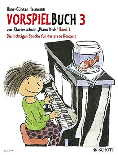 Vorspielbuch 3: zur Klavierschule