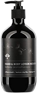 Botany Aromatherapy Hand and Body Lotion 500 ml, Black, 500 ml