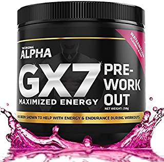 Alpha Gx7 Pre Workout -30 Servings Watermelon Flavor