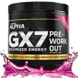 Keto Pre Workout - Gx7 - Sugar Free 30 Servings Watermelon Flavor