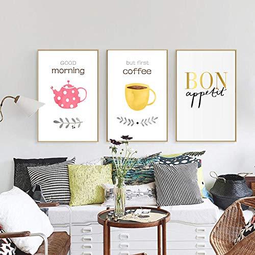 JRLDMD Arte Mural de Tinta de Salpicadura Amarilla Verde, Cartel de Lienzo de Graffiti, Pinturas abstractas Modernas, Impresiones Decorativas, Cuadro Mural para Cuadros de Dormitorio