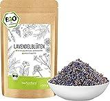 Lavendelblüten getrocknet BIO 500 g I Lavendel 100 % natürlich - Lebensmittelqualität I duftintensiv I Gewürz und Lavendeltee I bioKontor …