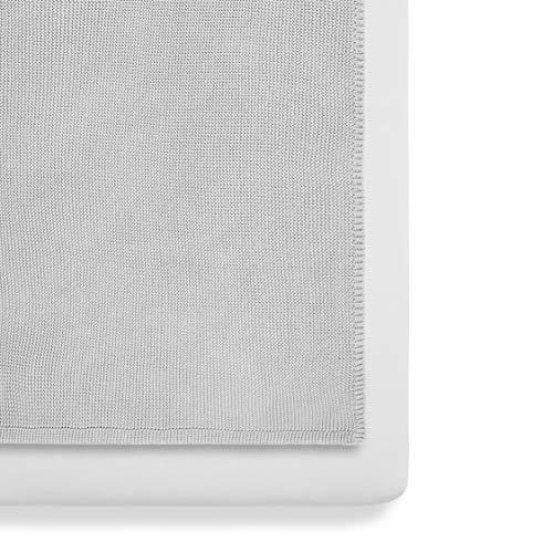 Snüz BD028AM Grey Bedding set with Cellular Blanket, grau, 580 g
