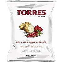 Torres - Patatas Fritas Selecta Sabor a Pimentón de la Vera Picante - Pack de 20 (20 x 50 gramos)
