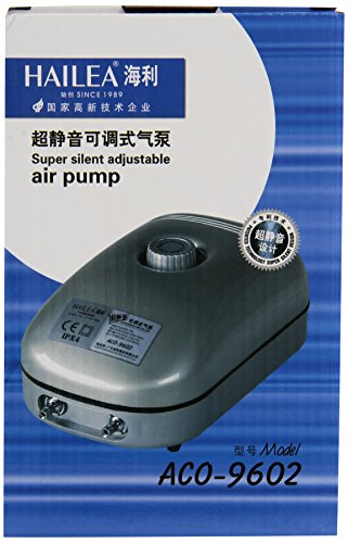 Hailea Aco 9602 Luftpumpe, 5 Watt, 7,2 l/min