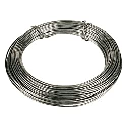 Pack of 1 x Wire Galvanised 1.6mm x 1/2 Kg (Approximately 30 Metres) Typically Used To Provide A Trellis For Climbing Plants Chain, Wire & Rope Accessories If instructions for fixing, assembly or maintenance of the products are included in the packag...