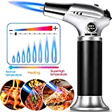 Culinary Butane Torch,ARCBLD Kitchen Refillable Butane Blow Torch with Safety Lock and Adjustable Flame for Crafts...