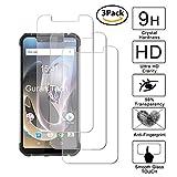 Guran [3 Unidades] Protector de Pantalla Vidrio Cristal Templado para Homtom ZOJI Z33 Smartphone Glass Vidrio Templado Film (9H, 2.5D Edge, 0.3mm)