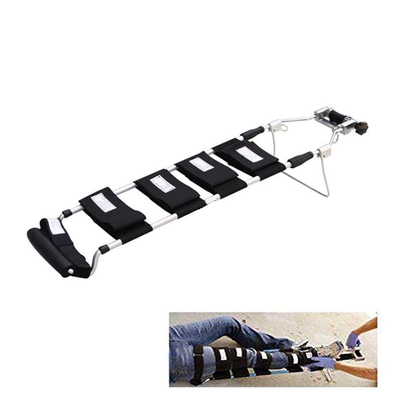 普及ラテンインシュレータ脚牽引装置整形外科、牽引副木、調整可能な足首ストラップ伸縮設計、脚緊急レトラクタ付き (Color : Children)