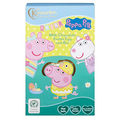 Milk Chocolate Easter Egg and Bar (Peppa Pig)