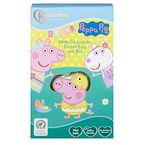 Uovo di Pasqua fatto di cioccolato - set regalo (62g) (Peppa Pig)