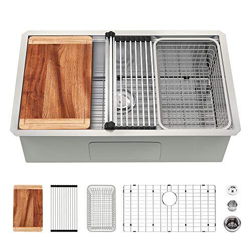 27 Undermount Stainless Steel Kitchen Sink