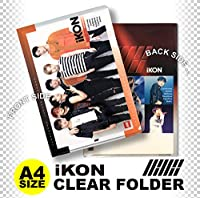 iKON (アイコン) クリア フォルダー/ファイル (Clear Folder/File) [A4 SIZE] グッズ
