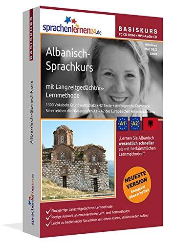 Sprachenlernen24.de Albanisch-Basis-Sprachkurs: PC CD-ROM für Windows/Linux/Mac OS X + MP3-Audio-CD für MP3-Player. Albanisch lernen für Anfänger.