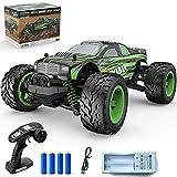 Coche teledirigido TOYABI 2,4 GHz RC CAR Off-Road con 25 km/h 4WD Monstertruck Buggy con 2 baterías recargables, juguete Crawler Coche de carreras para niños y adultos