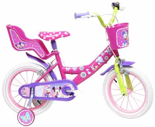 Disney 13127 - 14' Bicicletta Minnie, Rosa