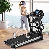 Smart Electric Folding Treadmill, Walking Jogging Running Sit-ups Machine, Cardio Fitness Exercise...
