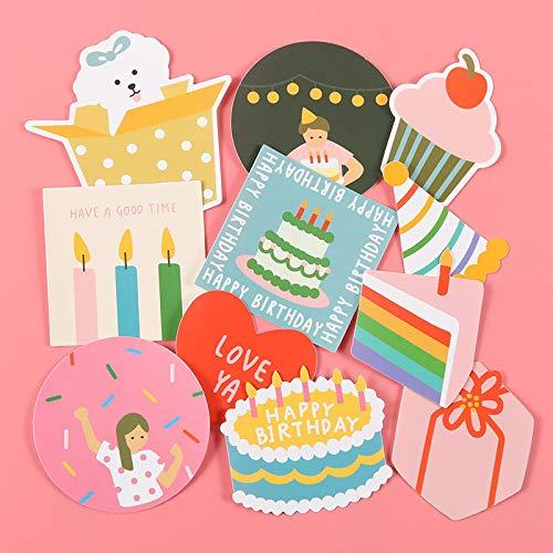HHSM Juego de pegatinas de equipaje de fiesta de cumpleaños para viaje, equipaje de viaje, impermeable, deslumbrantes, pegatinas lindas de dibujos animados para niña de corazón