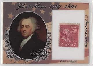 John Adams #83/90 (Trading Card) 2018 Historic Autographs POTUS - Stamps #ST-JA