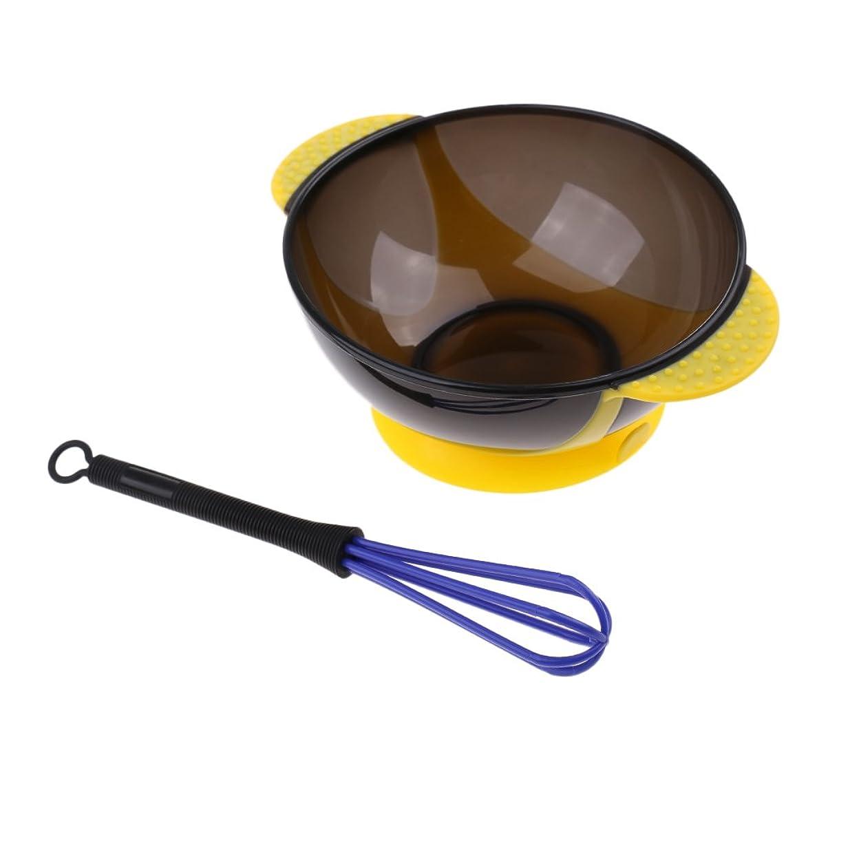 財布製作スキムヘアカラー ボウル ミキサー サロン ミルク アンチスリップボウルミキサー スターラーセット 美容 着色ツール