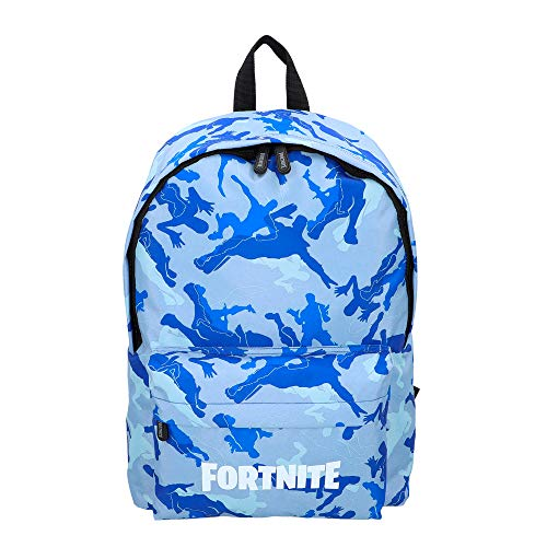 Fortnite - Mochila Camuflaje azul 31 x 43 cm 77080