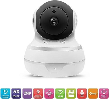 OWSOO Telecamera di Sicurezza Intelligente Resistente Agli Agenti atmosferici Telecamera di Sorveglianza IP WiFi 2MP 1080P Home IP Audio Bidirezionale per Baby Monitor - Trova i prezzi più bassi