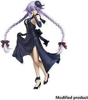 Hyperdimension Neptunia Purple Heart Dress Version PVC Figure Toy High 24CM(9.4Inches)