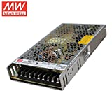 Mean Well LRS-200-12 Switching Power Supply, Single Output, 12V, 17A, 200W, 8.5' L x 4.5' W x 1.2' H