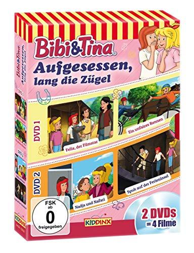 Bibi und Tina - Aufgesessen, lang die Zügel (2 DVDs)