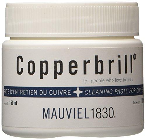 Mauviel 1830 Copperbrill Pasta per la Pulizia del Rame, 0.15 l